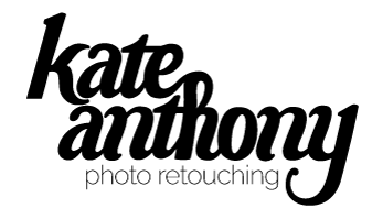 Kate Anthony | Photo Retouching Mobile Retina Logo